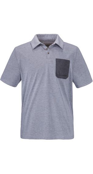 Schöffel Bilbao Polo Shirt Unisex melange mittelgrau